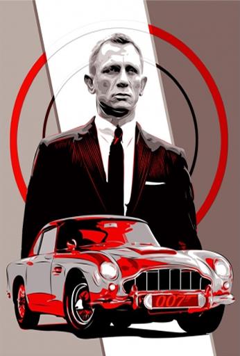 007 - Daniel Craig - Vector