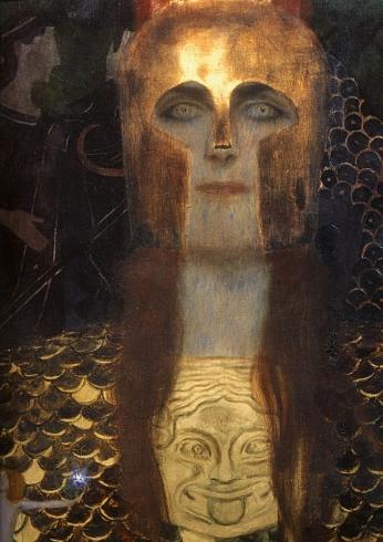 1898 Gustav Klimt Pallas Athgna Dgtail