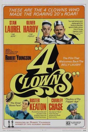 Filme: 4 Clowns (1970).