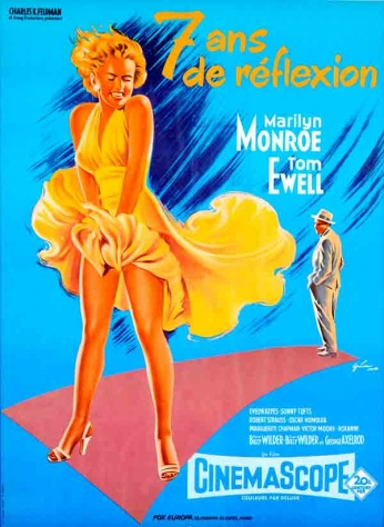 Filme: The Seven Years Itch (O Pecado Mora ao Lado, 1955).