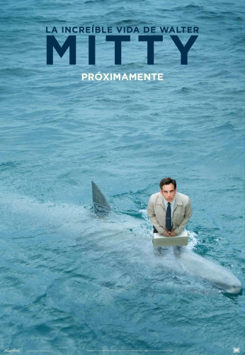 A Vida Secreta de Walter Mitty Shark Movie P
