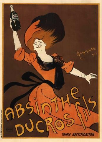 Poster Absinthe Ducros Fils.
