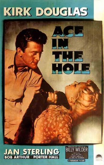 Filme: Ace in the Hole (A Montanha dos 7 Abutres, 1951).