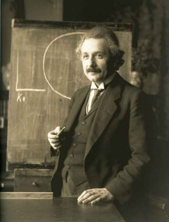 Albert Einstein - Portrait - 1921