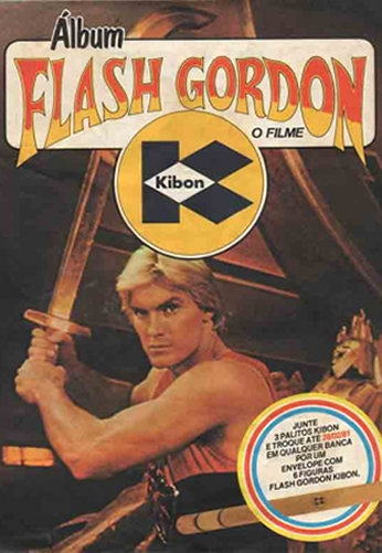 Álbum Flash Gordon - Kibon
