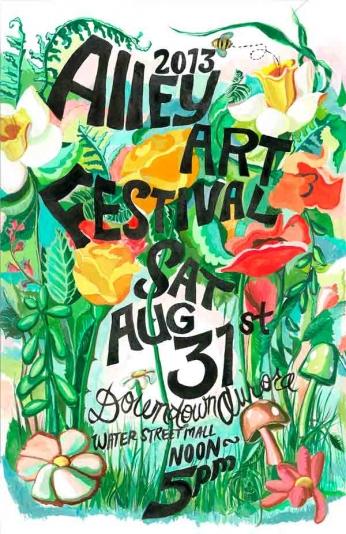 Alley Art Festival - 2013