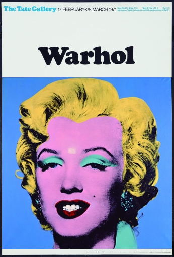 Andy Warhol - Marilyn Monroe - Blue 2 - 1962