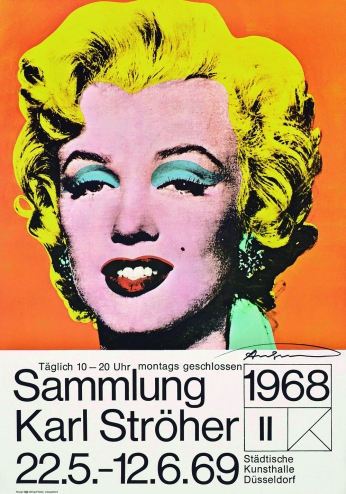 Andy Warhol Marilyn Monroe Cartaz