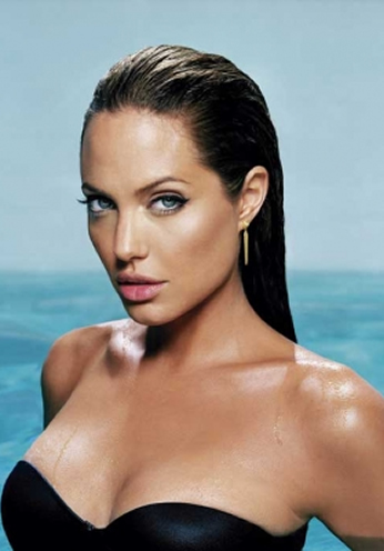 Angelina Jolie - Wet Portrait