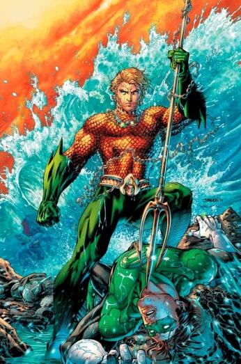 Aquaman vs Green Lantern