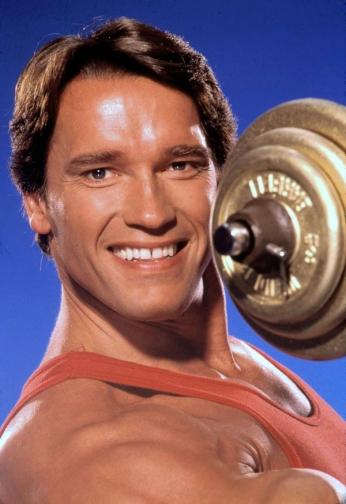 Arnold Schwarzenegger - Portrait - 1990