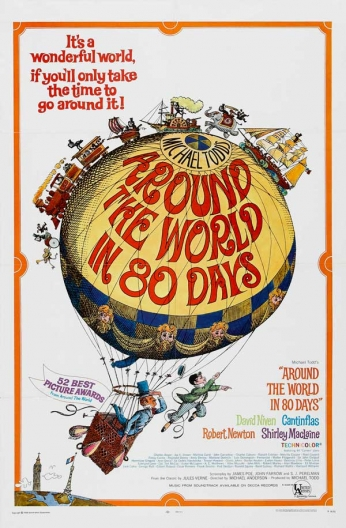 Filme: Around the World in 80 Days (A Volta ao Mundo em 80 Dias, 1956)