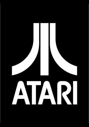 Atari Logo - Black