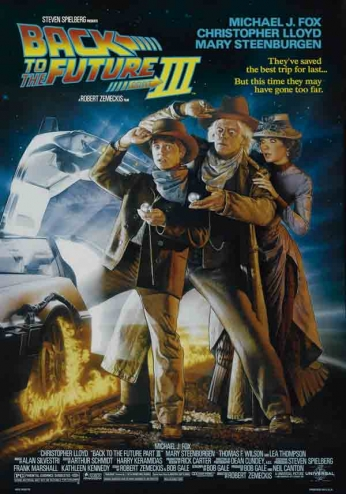 Filme: Back to the Future Part III (De Volta para o Futuro Parte III, 1990).