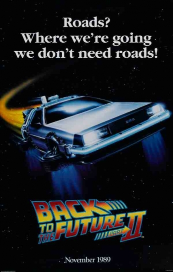 Back To The Future Part II - Teaser Poster