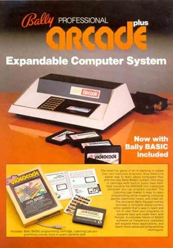 Bally Professional Arcade Plus