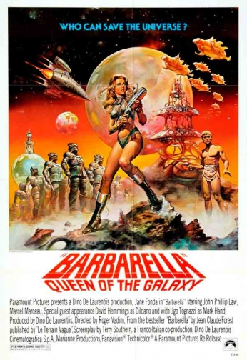 Filme: Barbarella - Queen of the Galaxy (Barbarella, 1968).