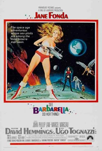 Barbarella - Teaser Poster