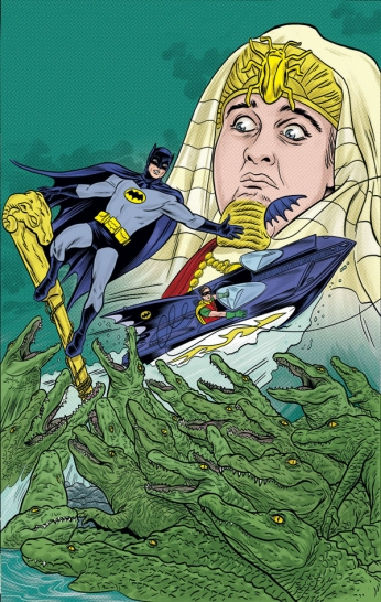 Batman - 60s - King Tut