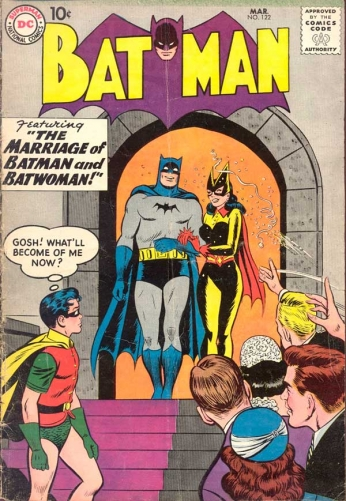 Batman - The Marriage of Batman and Batwoman