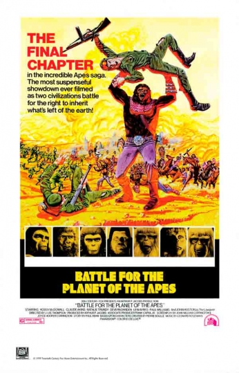 Filme: Battle for the Planet of the Apes (A Batalha do Planeta dos Macacos, 1973).