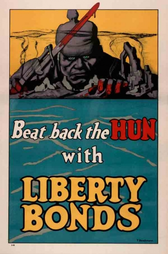 Beat Back the Hun With Liberty Bounds