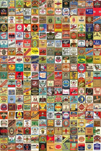 Beer Label Montage