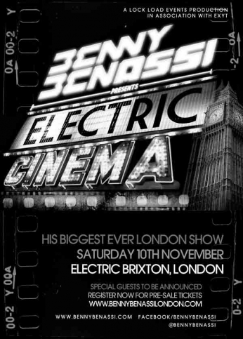 Benny Benassi Presents Electric Cinema