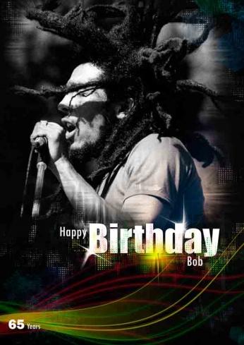 Bob_Marley - Happy Birthday - 65 Years