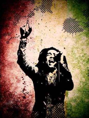 Bob Marley - Vintage Art