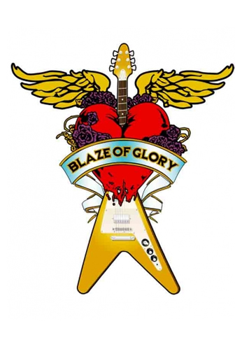 Bon Jovi - Blaze of Glory - Vector Logo