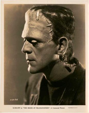 Boris Karloff - Portrait 01 - The Bride of Frankenstein - 1935