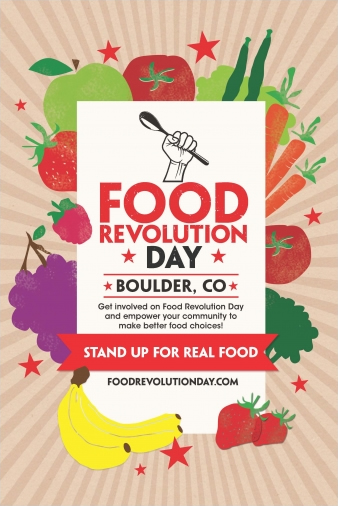 Boulder Food Revolution Day