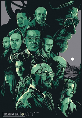Breaking Bad - Art Poster