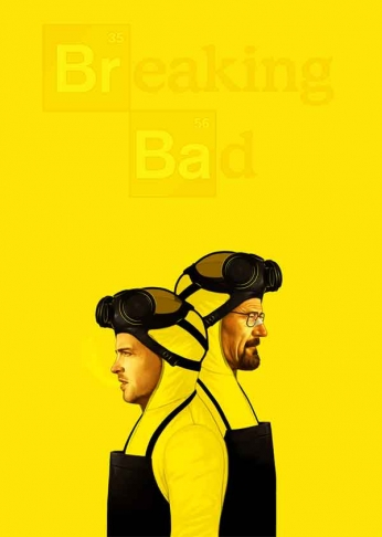 Breaking Bad - Dual Poster