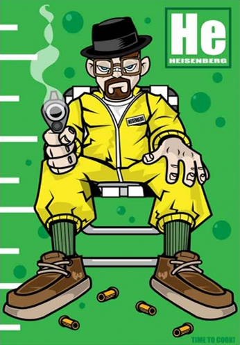 Breaking Bad - Heisenberg - Time To Cook