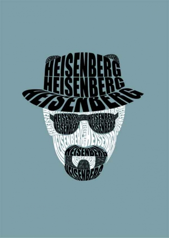 Breaking Bad - Heisenberg - Typography