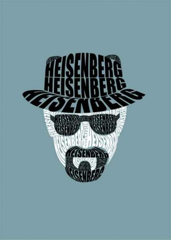 Breaking Bad - Heisenberg - Typography