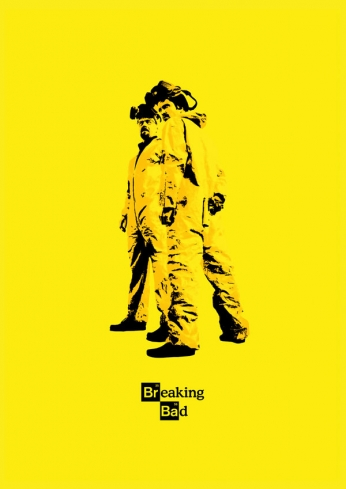 Breaking Bad - Yellow - Art Poster