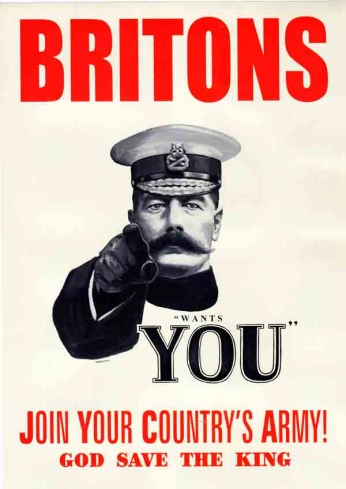 Britons Wants You - 1944