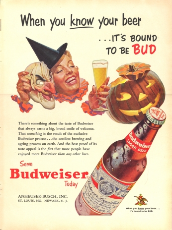 Pôster Budweiser - When You Know Your Beer