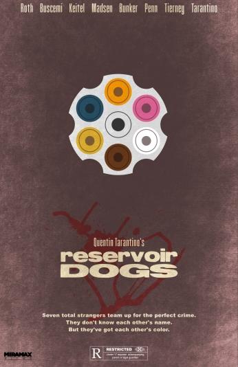 Cães de Aluguel Reservoir Dogs Illustrator Poster 04.