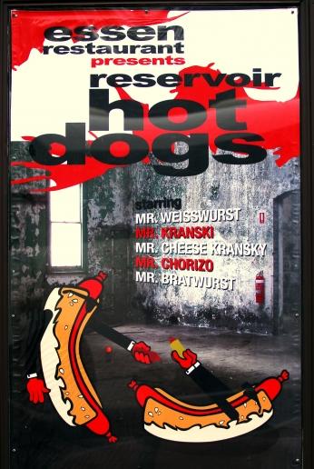Poster Cães de Aluguel Reservoir Dogs Illustrator Poster 06..
