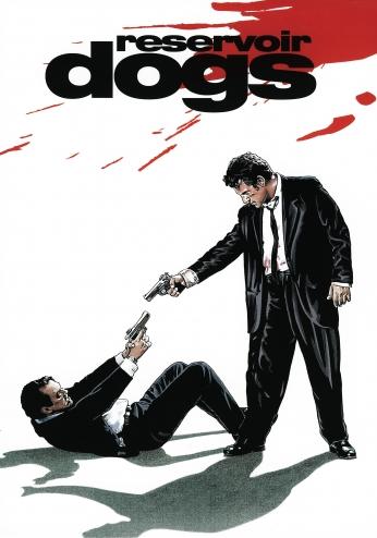 Cães de Aluguel Reservoir Dogs Illustrator Poster.