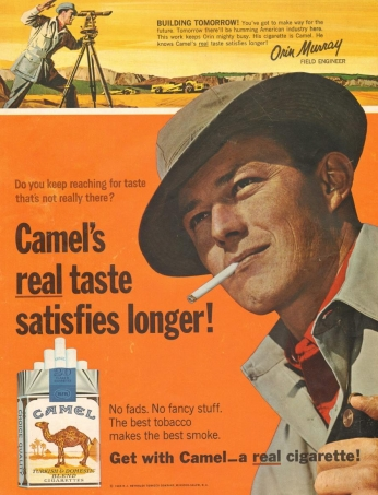 Poster Camel, August 1965.
