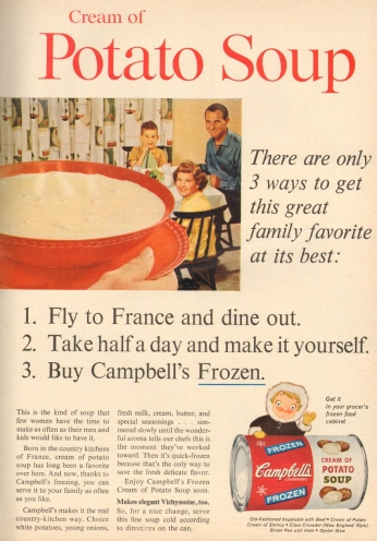 Poster Campbell's, May 1961.