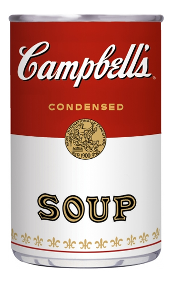 Poster Campbell's Tomato Soup Lata.