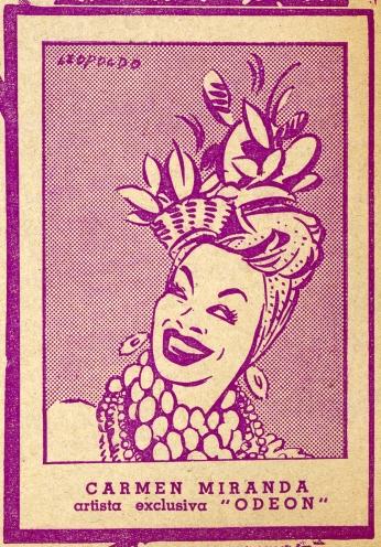 Carmen Miranda Artista Exclusiva
