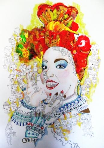 Carmen Miranda Paint