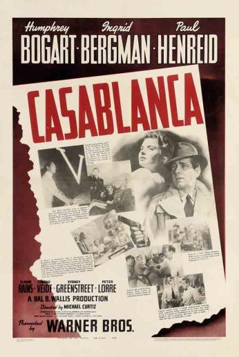 Casablanca - Scenes Poster